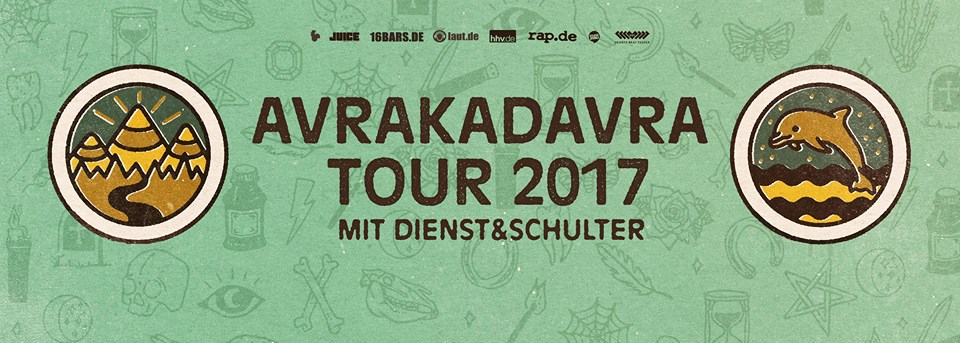 17.02.2017 Goldroger in Augsburg · Soho Stage: Avrakadavra Tour 2017