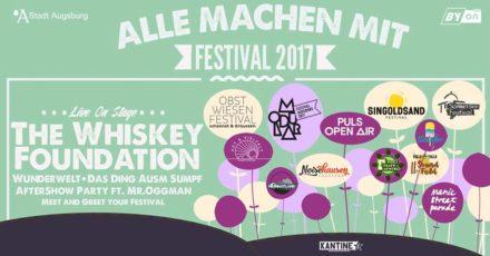 Alle Machen Mit – Festival 2017 // 13.05.17 // Kantine Augsburg