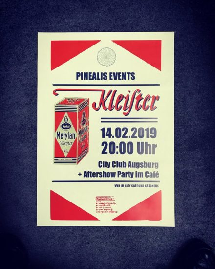 Kleister LIVE // 14.02. @ City Club Augsburg