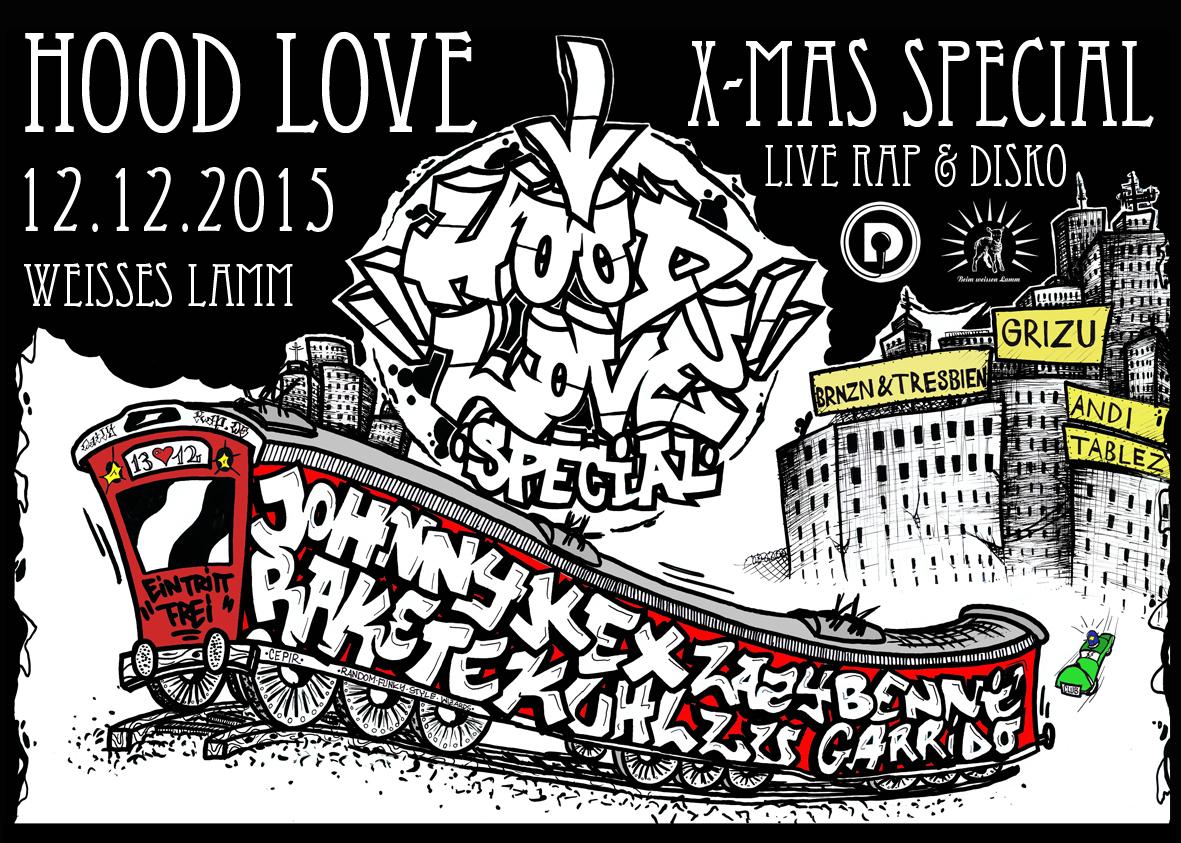 Hood Love Special mit Daily Rap Weihnachtsfeier & Birthday Bash
