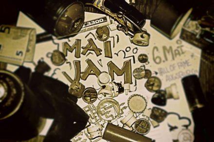 Die Bunten e.V. // Mai-JaMAI Graffiti-JAM // 06.05.17 // @Hall of Fame Univiertel