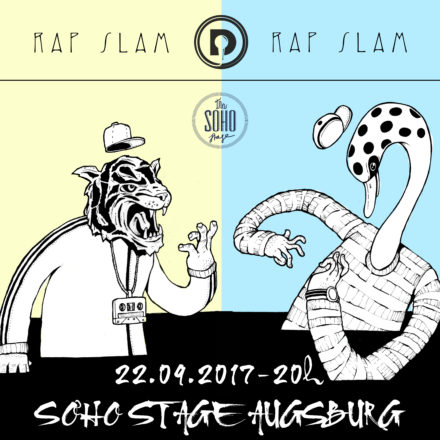 DAILY RAP SLAM // 22.09.2017 // Soho Stage Augsburg