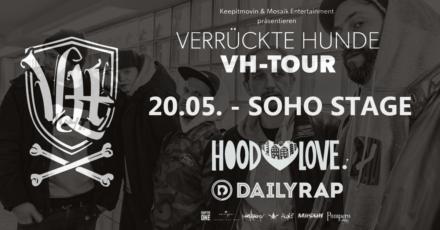 Verrückte Hunde & Lorenz Live // 20.05.2018 // SOHO STAGE AUGSBURG